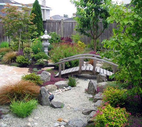 jardín zen barato