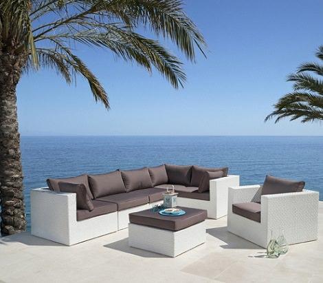 catalogo de muebles de jardín de Carrefour verano 2014