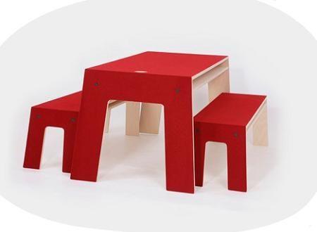 10 mesas infantiles