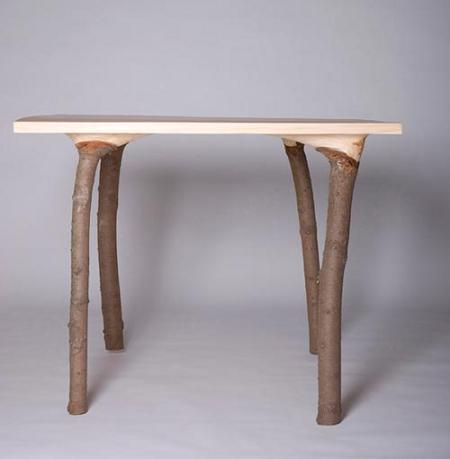 mesa de inspiración natural