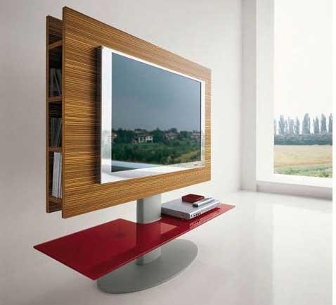 Muebles de dise o moderno para televisiones de plasma for Diseno de muebles para tv modernos
