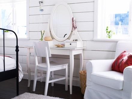 tocador clásico blanco de la tienda sueca