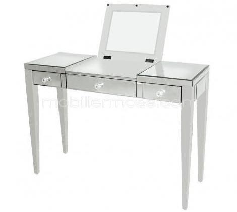 mesa tocador moderna con espejo