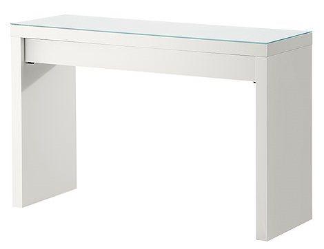 mesa malm de ikea blanca