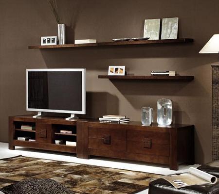 25 muebles tv de dise o minimalista que marcan tendencia for Disenos de modulares para living