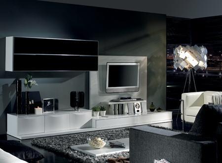 25 muebles tv de dise o minimalista que marcan tendencia for Diseno de muebles para tv modernos