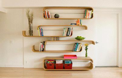 parenthetical shelves