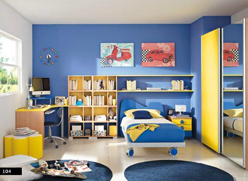 Dormitorio infantil para ni o decoraci n for Dormitorios infantiles nino
