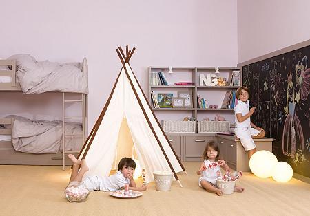 Dormitorio infantil de Asoral