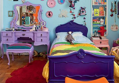 Habitación infantil de colores
