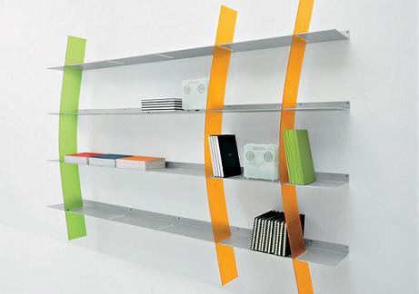 estantería de diseño