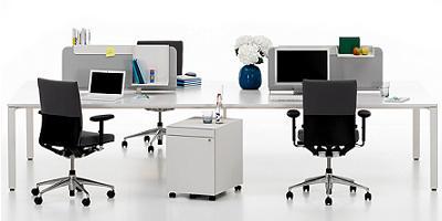 muebles de oficina de diseño, workit de Vitra