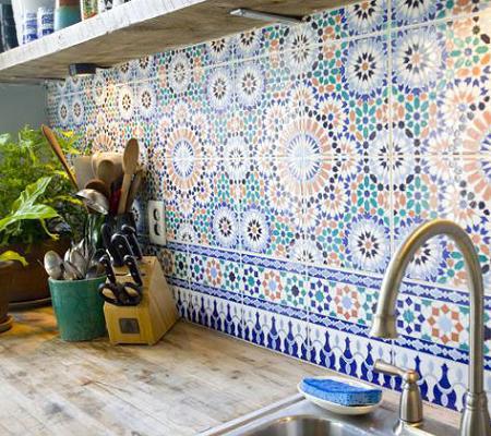 Azulejos árabes para la cocina