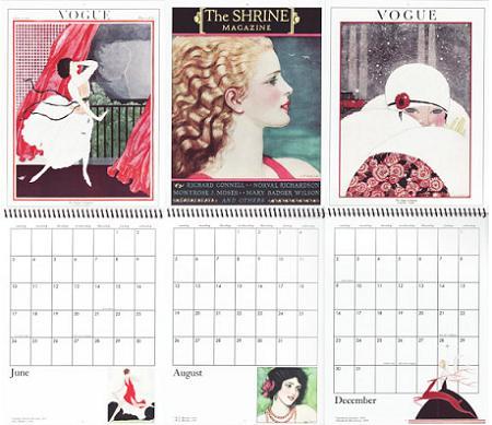 Calendarios de pared 2012