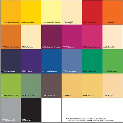 Carta De Colores Titan Para Paredes Decoracion