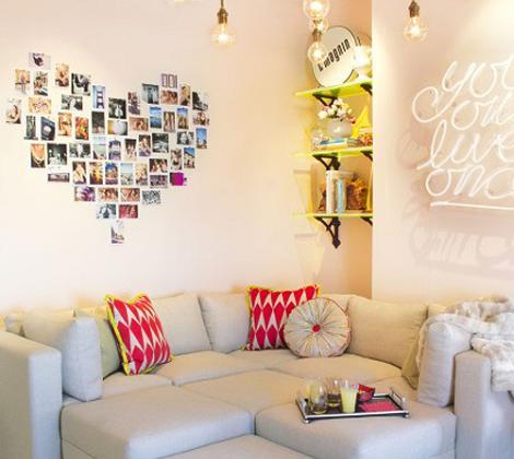 Mural de fotos para pared