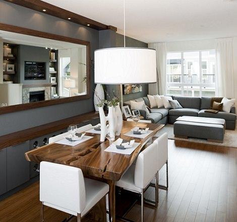 Las claves para distribuir bien el espacio en tu salón ...