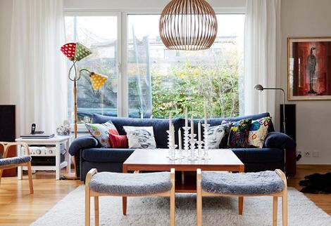 Foto de salón moderno