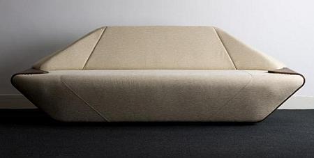 Hex es un sofá atractivo