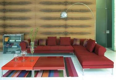 sofá de diseño de Minim
