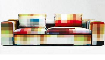 Sofa de diseño pixel