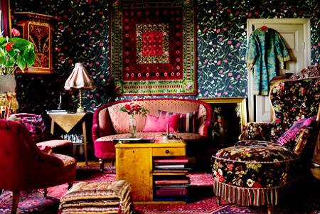 Un salón bohemio