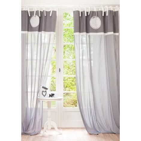 cortinas de maisons du monde decoraci n. Black Bedroom Furniture Sets. Home Design Ideas