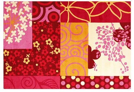 Alfombra de patchwork
