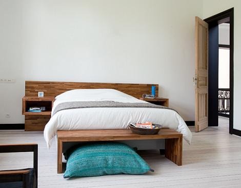 Cabeceros modernos de madera