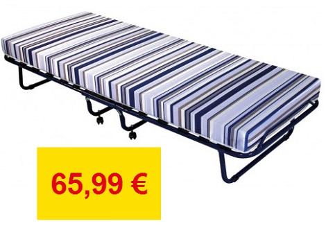 La cama plegable de Conforama, la más brata