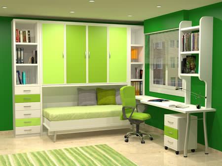 camas plegables baratas verde