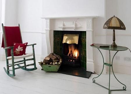 Ideas para decorar tu casa con chimeneas