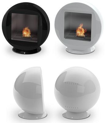 chimenea de diseño, Q de Ecosmart Fire