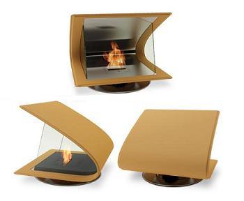 chimenea de diseño, zeta de ecosmart fire