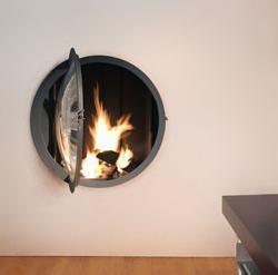chimenea circular