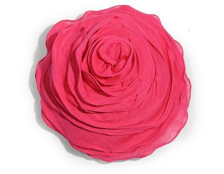 Cojín de rosa