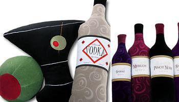 Cojines de la colección Martini