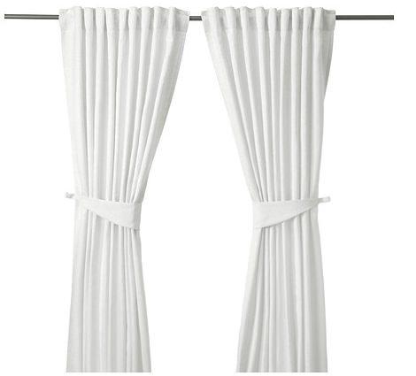 cortinas blancas de ikea