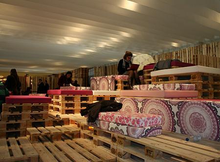 Lounge de Ikea en ARCO Madrid 2012