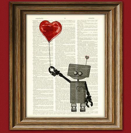 Regalos de San valentín: cuadros de corazón