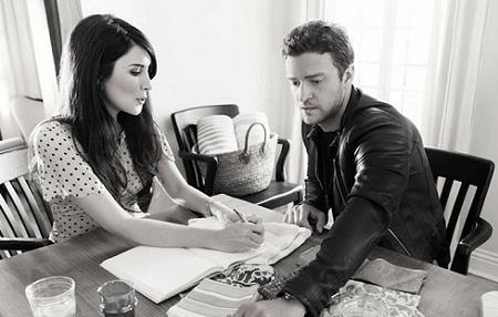 Justin Timberlake y Estee Stanley