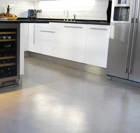 microcemento en la cocina