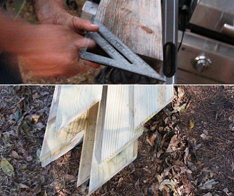hacer una pérgola de madera