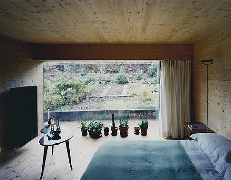 Dormitorio de ambiente natural