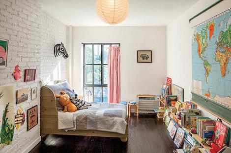 Foto de dormitorio infantil