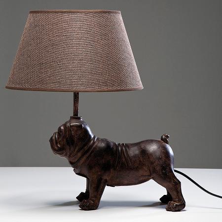 Lámpara perro
