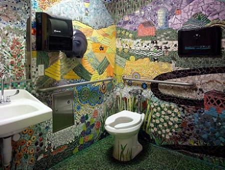Los mosaicos son obras de arte
