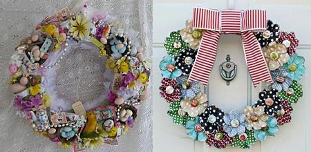 Coronas de Navidad, originales y de diseño!