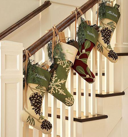Idea para decorar tu casa de Navidad!