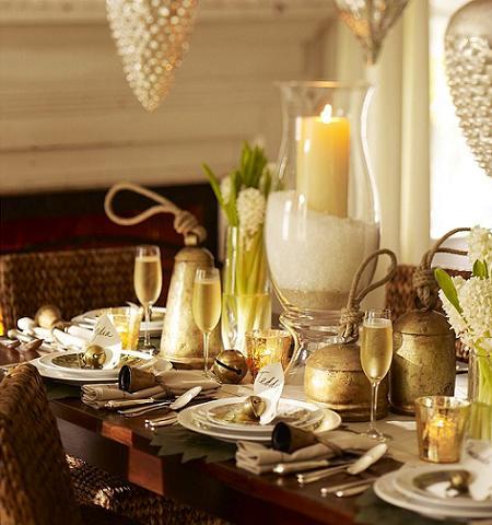 Ideas para decorar la mesa de fin de año